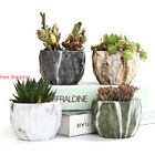 Marbling Ceramic Flower Pot Cactus Planter Pots Container Bonsai Planters