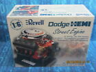HUGE REVELL 1/6 SCALE DODGE STREET HEMI ENGINE HIGHLY DETAILED WITH DISPLAY