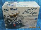 HUGE REVELL 1/6 SCALE FORD 427 SOHC ENGINE HIGHLY DETAILED WITH DISPLAY STAND