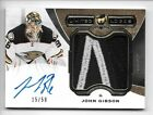 JOHN GIBSON LIMITED LOGOS AUTO PATCH 15 50 2014-15 UD THE CUP DUCKS LL-GI SICK