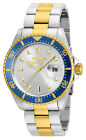 Invicta Mens Watch Pro Diver Two Tone Gold and Silver Tone Bracelet 22061