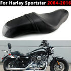 One Piece Two 2 up Seat Passenger Driver For Harley Sportster 883 Iron 2005 2019