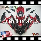 For Suzuki GSX-R600 GSX-R750 2008-2010 Fairing Bodywork ABS Black Red 2j68 XB