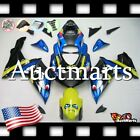 For Suzuki GSX-R600 GSX-R750 2011-2017 Fairing Bodywork ABS Blue Green 2o28 XB