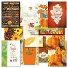 Thanksgiving Greeting Cards Value Pack Set of 12 Thanksgiving Greeting Cards