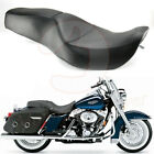 Two Up Seat Driver Passenger Cushion PadFor Harley Road King Electra Glide 97 07