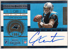 2011 Contenders Football Cam Newton Rookie Tickets Autograph QB Panther