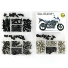 Full Complete Fairing Bolt Kit Fasteners Nuts For 2012-2014 Kawasaki Versys 1000
