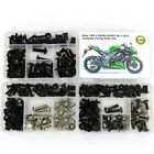 For Kawasaki Ninja1000 Z1000S Z1000SX 2011-2019 Full Fairing Bolt Nut Screws Kit