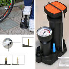 Motorcycle Bike Wheel Tyre Tire Portable Pedal Inflator Tool Pedal Pump Inflator