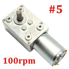 Powerful 2rpm-120rpm Reversible High Torque Turbo Geared Motor Dc 12v Reduction