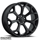 20 2016 Chrysler Satin Black 300 SRT Style Wheels Challenger Charger Rims