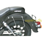 Frames Spaan Chrome-Plated Side Panniers for Keeway Superlight 125 / Std / le /