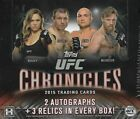 2015 Topps UFC Chronicles Sealed Hobby Box