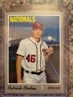 2019 Topps Heritage High Number Baseball Variations Guide 206