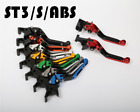 CNC Folding Brake Clutch Levers For DUCATI  ST3/S/ABS  2003-2007