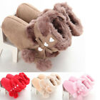 Cute Baby Girl Shoes Winter Warm Toddler Soft Sole Snow Boots Prewalker 0 18M
