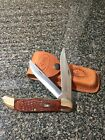 CASE XX FOLDING HUNTER 6265 SS Knife Rosewood NEVER USED IN BOX
