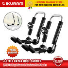 IKURAM 2X Kayaks racks kayak Roof Carrier canoe shelf Folding Universal Aluminum