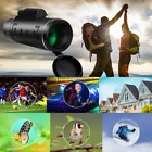 High Power 40X60 HD Monocular Telescope Shimmer Night Vision For Travel