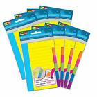 Redi-tag Divider Sticky Notes Tabbed Self-stick Lined Note Pad 60 Ruled Notes