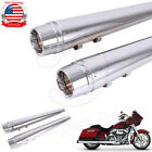 Motorcycle Megaphone Exhaust Pipes Muffler End Cap For Harley Touring 1995 2016