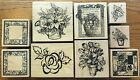 YOU PICK PSX Rubber Stamps FLORAL FLOWERS TULIPSROSESSUNFLOWERPOINSETTA