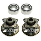 For Geo Prizm Toyota Corolla FWD Front and Rear Wheel Bearings  Hubs Kit Timken