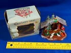 Mid Century Modern Nativity Set in Box Plastic Glitter Hong Kong VTG Retro Mini