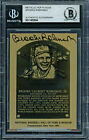 Brooks Robinson Autographed Signed 1984 HOF Plaque Card Orioles Beckett 11482604