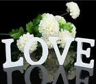 Mr  Mrs LOVEWhite Home Wooden Letters Wedding Party Table Sign Decor