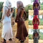 Women Sexy Lace Up Hoodies Cosplay Mountain Festival Pixie Steampunk Dress Cool