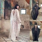 Women Medieval Renaissance Lace Up Vintage Gothic Hollowing Out Sexy Dress