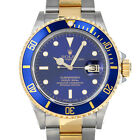 Rolex 16803 R Sub Blue RSC Box Papers Submariner Steel Yellow Gold Swiss Diver