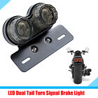 Smoke Lens Motorcycle Bike LED Brake Tail Light Turn Signal Indicator Waterproof