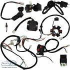 9Pcs GY6 125 150cc Quad Scooter Buggy Electric Wiring Harness Kit Magneto Stator