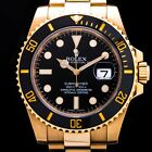 ROLEX SUBMARINER 18K GOLD REF. 116618LN AUTOMATIC DATE HERRENUHR