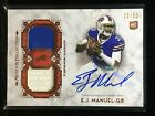 EJ Manuel Signs Exclusive Autographed Memorabilia Deal with Panini Authentic 9