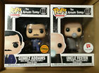 Funko Pop! The Addams Family 810 GOMEZ ADDAMS Chase & 819 UNCLE FESTER WG Excl