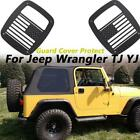 2PCS High Quality American Flag Tail Light Cover For Jeep Wrangler TJ YJ 87-06