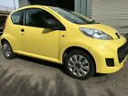 2009 59 PEUGEOT 107 URBAN LITE 10 YELLOW NO RESERVE BARGAIN NEW CLUTCH