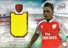 2016 Futera Unique Arsenal Soccer Cards 20