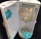 Lolita Radiance Wine Glass Hand painted Decorated With Crystals NIB Glitzy Ex