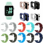 For Apple Watch iWatch Sports Series 1/2/3/4 Silicone Band Strap 38/42/40/44mm