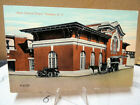 1910 Postcard New Central Railroad Depot Yonkers New York