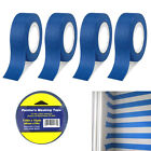 4 Rolls Multi Surface Painters Masking Paint Tape Arts Crafts 189 x 15 Yd Blue