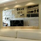 DIY Removable Mirror Decal Art Mural Wall Stickers Home Decor Room Decoration