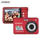 Andoer 18M 720P HD Digital Camera Video Camcorder with 2pcs Rechargeable M1P0