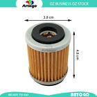 Motorcycle Engine Oil Filter Fit MBK Scooter 125 XC K Flame R 1997 1998 1999