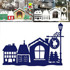 Christmas Night Metal Cutting Dies Stencil DIY Scrapbooking Card Embossing US